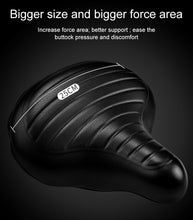 Load image into Gallery viewer, INBIKE Soft Wide Bicycle Saddle Comfortable Bike Seat Vintage Bicycle Leather