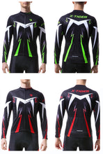 Load image into Gallery viewer, X-Tiger Cycling Jersey Winter Long Sleeve Bike Clothes
