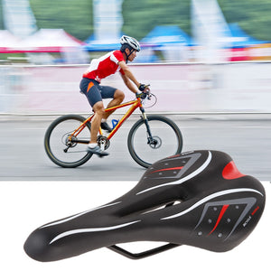 Breathable Soft Bike Bicycle Saddle PVC Leather Comfortable - Bike-Moto