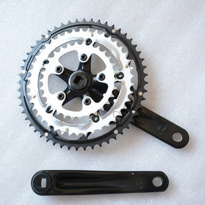 Road Bike Crankset 170MM Chainring Bike Parts 30-42-52T Folding Bicycle