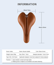 Load image into Gallery viewer, INBIKE Bicycle Saddle Bike Seat High Rebound Road Bike MTB Seat GEL