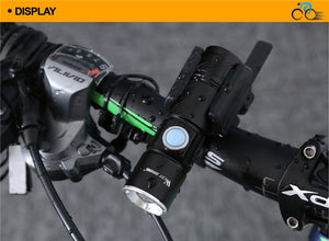 WEST BIKING Bike Light Ultra-Bright Zoomable 240 Lumen Q5 200M USB Rechargeable
