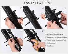 Load image into Gallery viewer, GIYO Cycling Bicycle Pump140 PSI MTB Foldable Bike Ball Aluminum - Bike-Moto