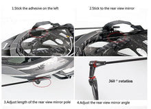 Load image into Gallery viewer, WEST BIKING Bicycle Helmet Mirror Flat Lightweight 360 Degree Bike Helmet