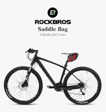 Load image into Gallery viewer, ROCKBROS Bicycle Bag 3D Shell Rainproof Saddle Bag Reflective