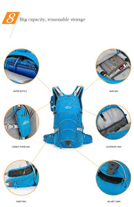 Local Lion Ergonomic Waterproof  Ventilate Cycling  Backpack  20L