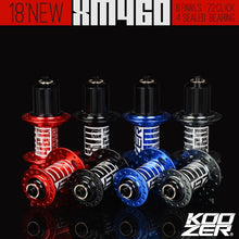 Load image into Gallery viewer, KOOZER XM460 front rear hub 32 holes bicycle hubs quick release