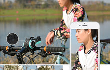 Load image into Gallery viewer, ROCKBROS Bike Head Light Cycling Waterproof Bell Multifunction