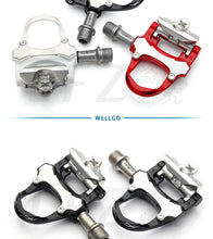 Load image into Gallery viewer, Wellgo XRF07MC 235g magnesium alloy Road Bicycle clipless Pedals