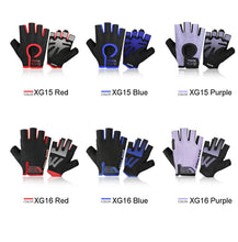 Load image into Gallery viewer, Loogdeel Cycling Anti-slip Anti-sweat Men Women Half Finger Gloves