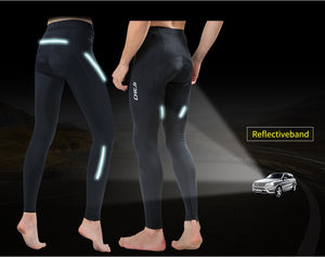 CHEJI Winter Thermal Fleece Cycling Long Pants Men And Women - Bike-Moto