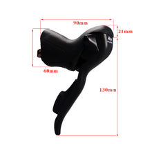 Load image into Gallery viewer, 2/3X7/8/9 Speed Shifter Bicycle Dual Control Levers Road Bike Shift Lever Derailleur - Bike-Moto