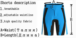 SAENSHING Cycling Shorts Men Breathable Mountain Bike Short