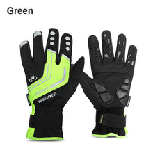 Load image into Gallery viewer, INBIKE 2018 Winter Cycling Gloves Gel Padded Thermal Full Finger