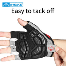 Load image into Gallery viewer, INBIKE Cycling Gloves Half Finger Mens Women's Summer Sports