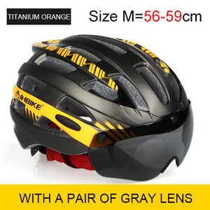 INBIKE Helmet Cycling Bike Ultralight helmet Integrally-molded Breathable