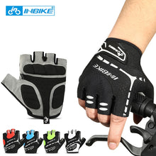 Load image into Gallery viewer, INBIKE Men Women Bike Gloves Bicycle Cycling Gloves Half Finger Gel Padded
