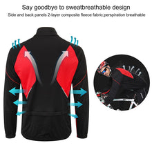 Load image into Gallery viewer, INBIKE Men's Cycling Jacket Winter Thermal Warm MTB