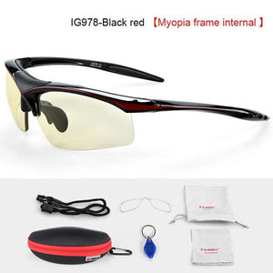 INBIKE Photochromic Cycling Sun Glasses Bicycle Glasses MTB Road Bike Sunglasses