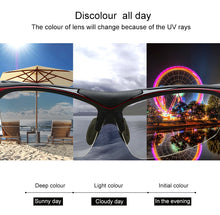 Load image into Gallery viewer, INBIKE Photochromic Cycling Sun Glasses Bicycle Glasses MTB Road Bike Sunglasses