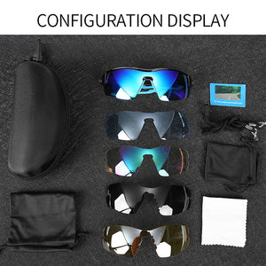 INBIKE Sport Polarized Glasses Men Women Bicycle Sunglasses