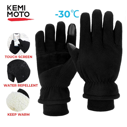 KEMiMOTO 2020 Winter Gloves Men Women warm  Gloves -30 ° C