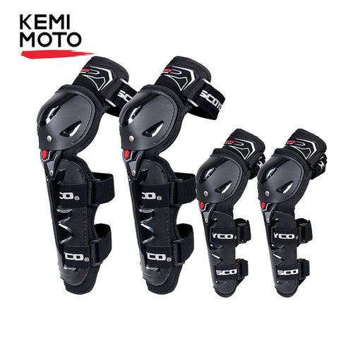 KEMiMOTO Motorcycle Knee Elbow Pads Protective Equipment