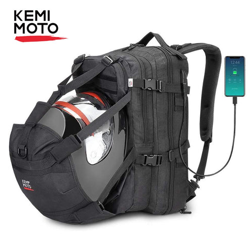 KEMiMOTO Helmet Bags Backpack Water Repellent Large Capacity