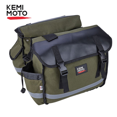 KEMiMOTO Motorcycle Bags Saddlebag Luggage  Travel Knight Rider