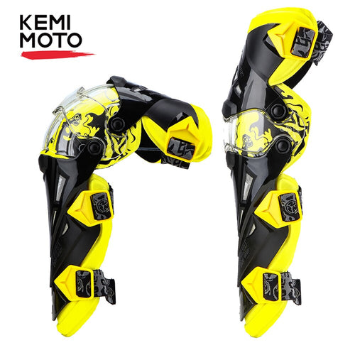 KEMiMOTO Motorcycle Knee Pads Men Protective Gear Knee Gurad