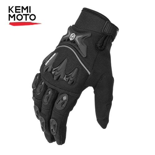 KEMiMOTO Motorcycle Motocross Gloves Men Women Full Finger