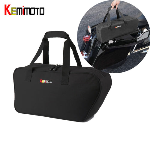 KEMiMOTO Saddlebag Luggage Liner For Touring Road King