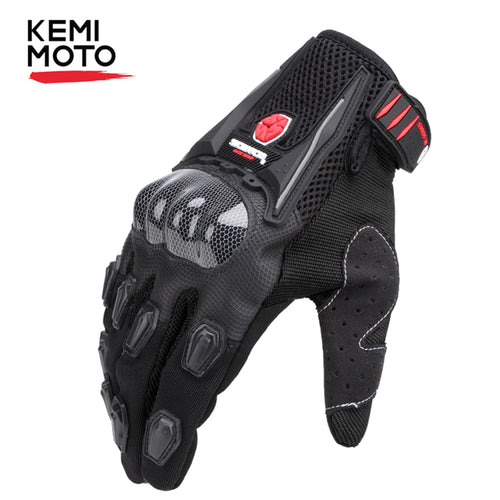 KEMiMOTO Gloves  High Protective  Full Finger Comfortable Wearing