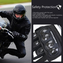 Load image into Gallery viewer, KEMiMOTO Touch Screen Motorcycle Gloves Leather   Full Finger Luvas