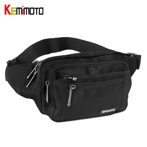 KEMiMOTO Waist Bags For Motorcycle Riding Hip Backpack