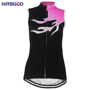HIRBGOD Women's Sleeveless Cycling Jersey Bike Vest - Bike-Moto