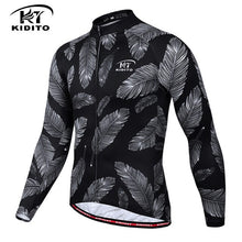 Load image into Gallery viewer, KIDITOKT 2019 Quick-Dry Cycling Jersey Breathable Long Sleeve