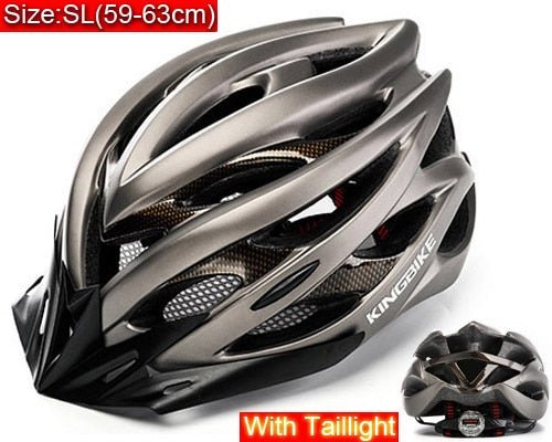 KINGBIKE EPS Windproof Lenses Cycling Helmet with 20 Air Vents