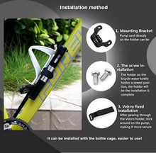 Load image into Gallery viewer, LIFETONE Mini Pump Alloy Bike Air Pump Stainless Bike Inflator