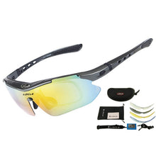Load image into Gallery viewer, LOCLE Professional Cycling Eyewear UV400 Polarized Cycling Glasses