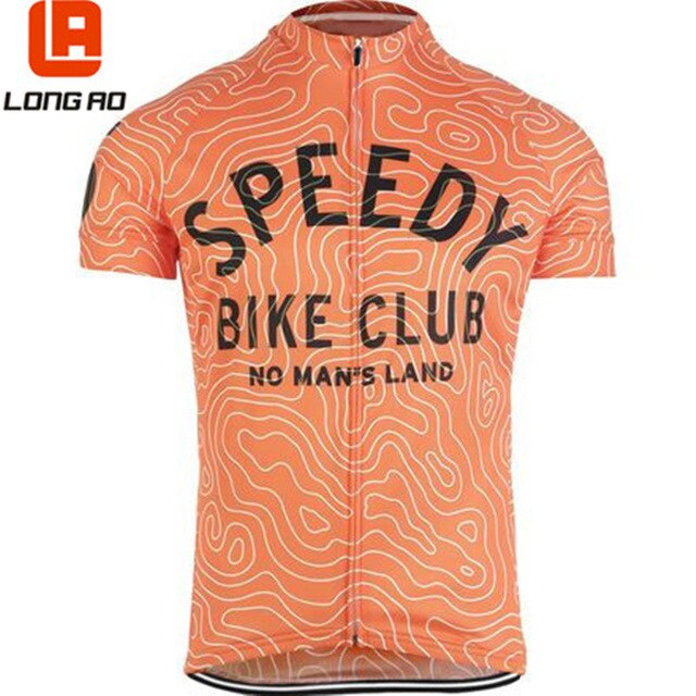 LONG AO 2 color streak Maze  cycling jersey riding bike clothing bicycle wear short sleeve
