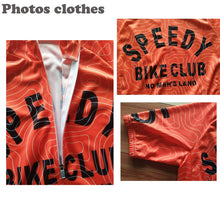 Load image into Gallery viewer, LONG AO 2 color streak Maze  cycling jersey riding bike clothing bicycle wear short sleeve