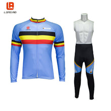 Load image into Gallery viewer, LONG AO Cycling set men Cycling jersey Long sleeve bike set Thrasher