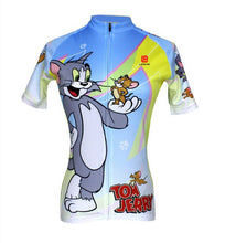 Load image into Gallery viewer, LONG AO  Women short sleeve summer lovely tom and jerry USA team