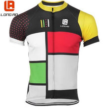 Load image into Gallery viewer, LONG AO  high quality Man&  Summer Short Sleeve Cycling Jerseys/Bike Sports Clothing Bicycle Clothes Ropa Ciclismo