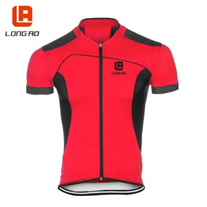 LONG AO printing cycling jersey wear pro polyester cycling clothing
