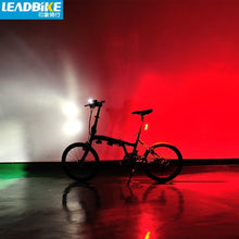 Load image into Gallery viewer, Leadbike Cycling Bicycle Front Light Waterproof LED Bike Rear Light