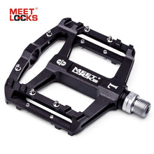 Load image into Gallery viewer, MEETLOCKS Utral Sealed Bike Pedals, CNC Aluminum Body
