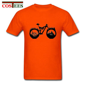 MTB Enduro Biker T shirt men mountain biker t-shirt homme bicycle