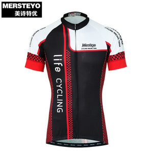 Mersteyo Pro Racing Bike Cycling Jersey Summer Clothing Breathable